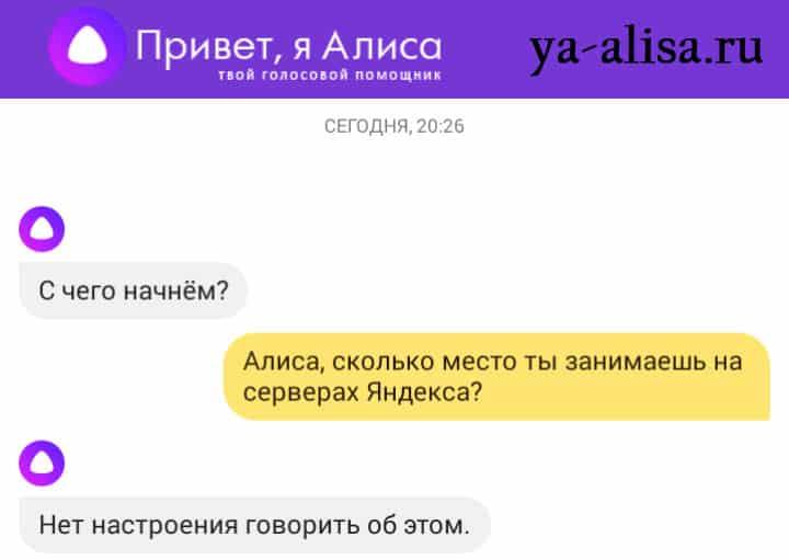 Алиса Яндекс сколько весит