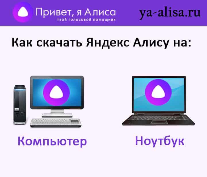 Скачать Яндекс Алису на ПК и Ноутбук