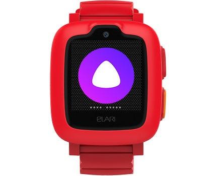 Красные Часы-телефон Elari KidPhone 3G