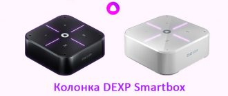 DEXP Smartbox умная колонка с Алисой
